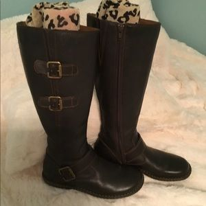 🧨 b.o.c. Leather Boots - Size 6-1/2 🧨